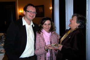 Tomas and Tosia with Renata Zadjman.