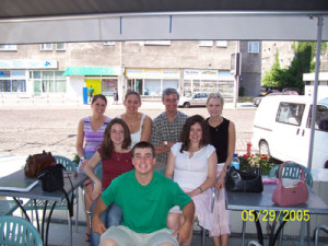 Jacek Leociak, with group in Warsaw-summer of 2005.